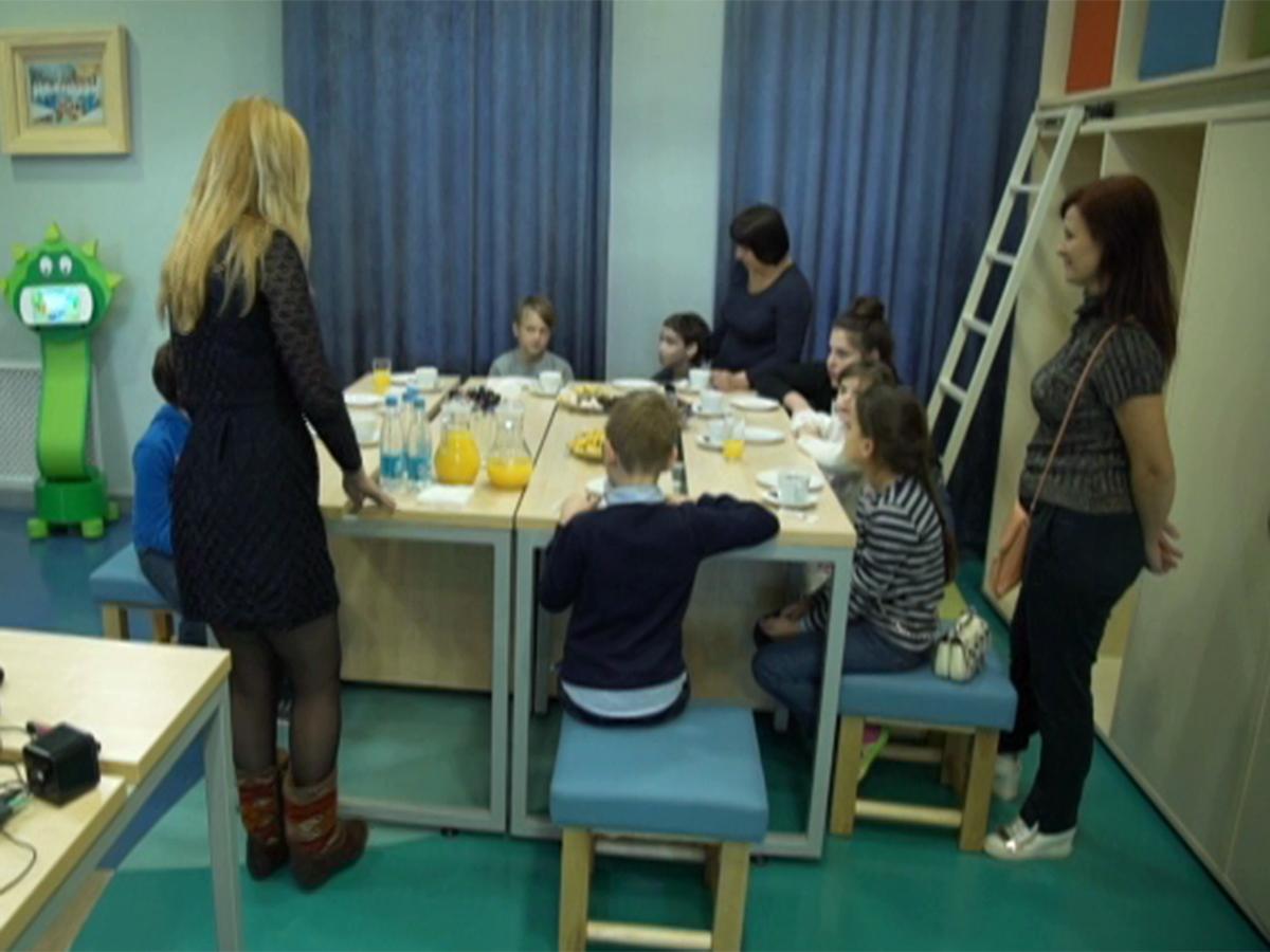 В Краснодаре сотрудники банка провели экскурсию для подопечных фонда «Край Добра»