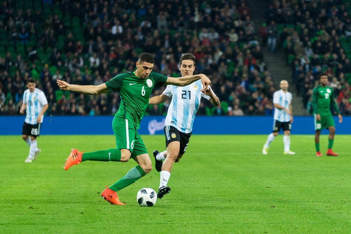 Как проходил матч Аргентины и Нигерии в Краснодаре