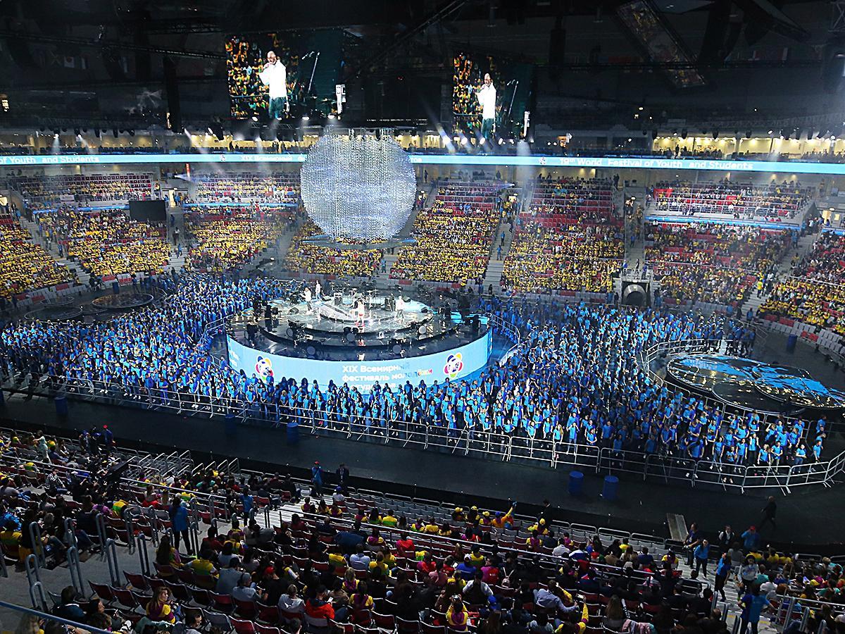 Спецрепортаж: Всемирный фестиваль молодежи и студентов в Сочи