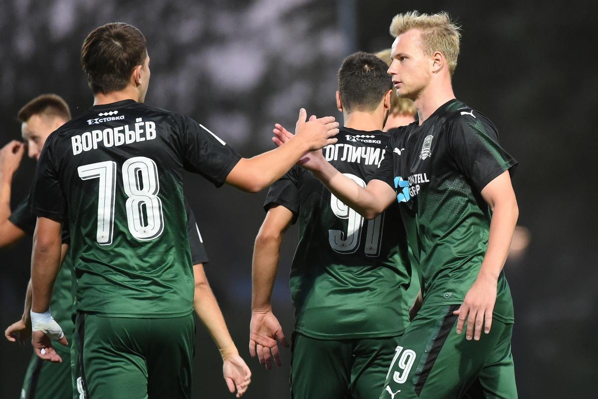 «Краснодар-2» разгромил «Кубань-2» со счетом 4:0
