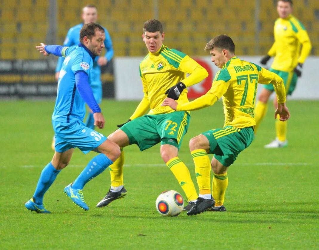 ФК «Кубань» провел последний матч года с «Сибирью»