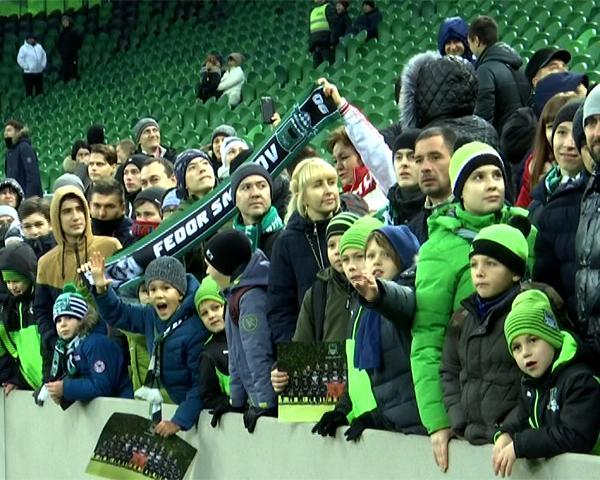 Болельщики ФК «Краснодар» поделились впечатлениями от встречи с игроками
