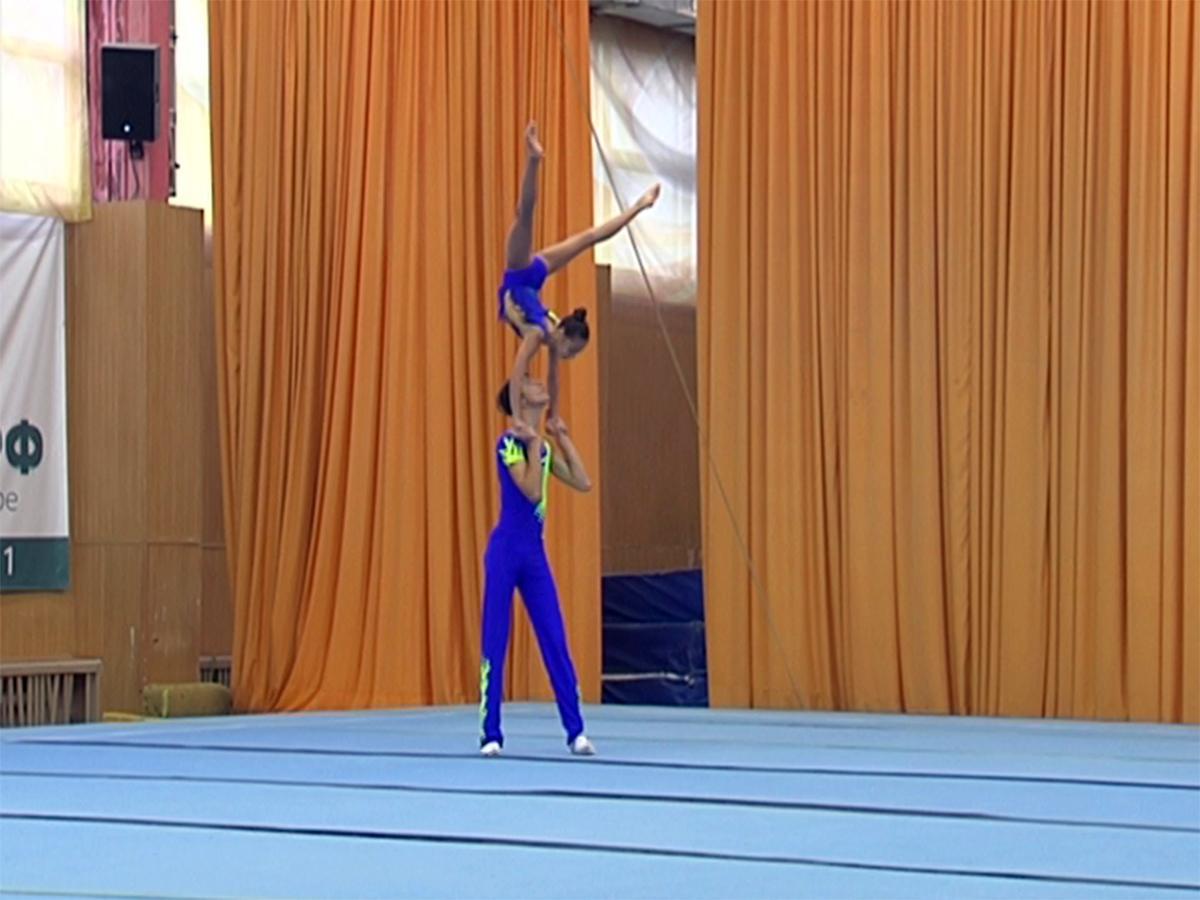 Как проходит первенство края по спортивной акробатике в Краснодаре