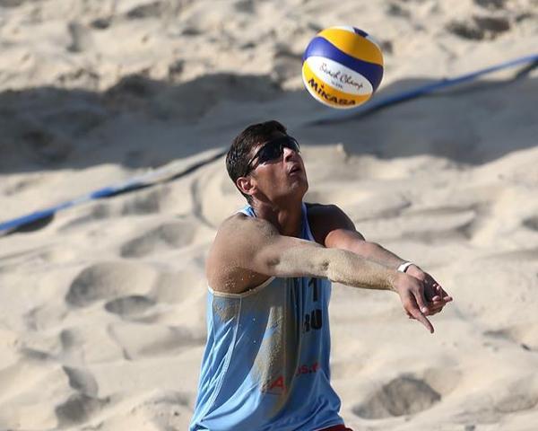 Претендент на титул «Спортсмен Кубани 2017» — пляжный волейболист Вячеслав Красильников