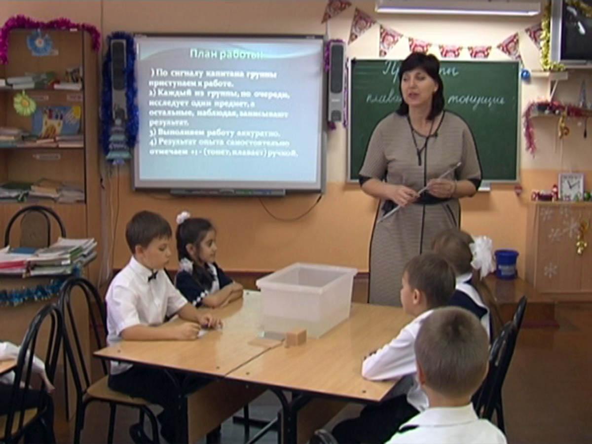 Как проходят уроки в признанной лучшей в стране школе № 1 Динского района
