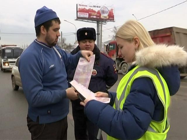 Краснодарские студенты патрулировали улицы и дежурили на постах ДПС