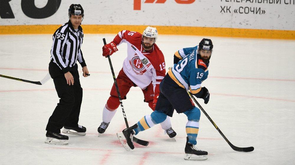 ХК «Сочи» подвел итоги последней домашней серии в чемпионате КХЛ