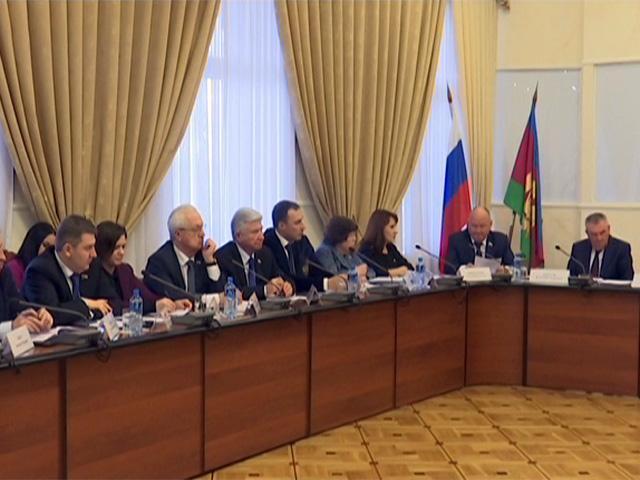 В Краснодаре прошло заседание Совета законодателей