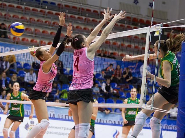 Как волейболистки краснодарского «Динамо» сыграли с «Уралочкой-НТМК»