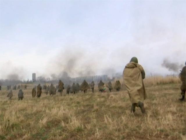 На Малой Земле в Новороссийске прошла реконструкция боевых действий