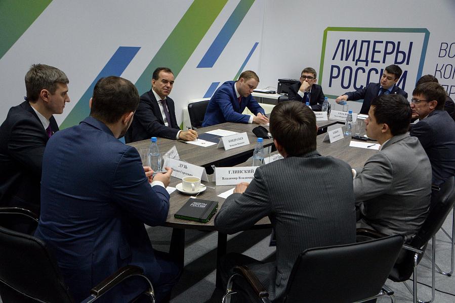 Вениамин Кондратьев: конкурс «Лидеры России» — это поиск человеческого капитала