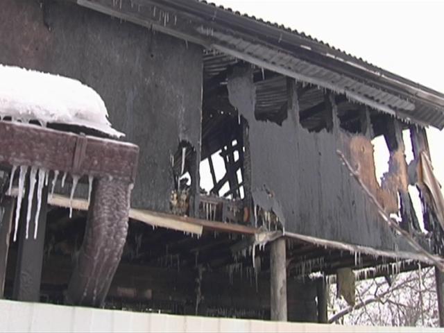 СК: причиной пожара в Пашковке могло стать короткое замыкание