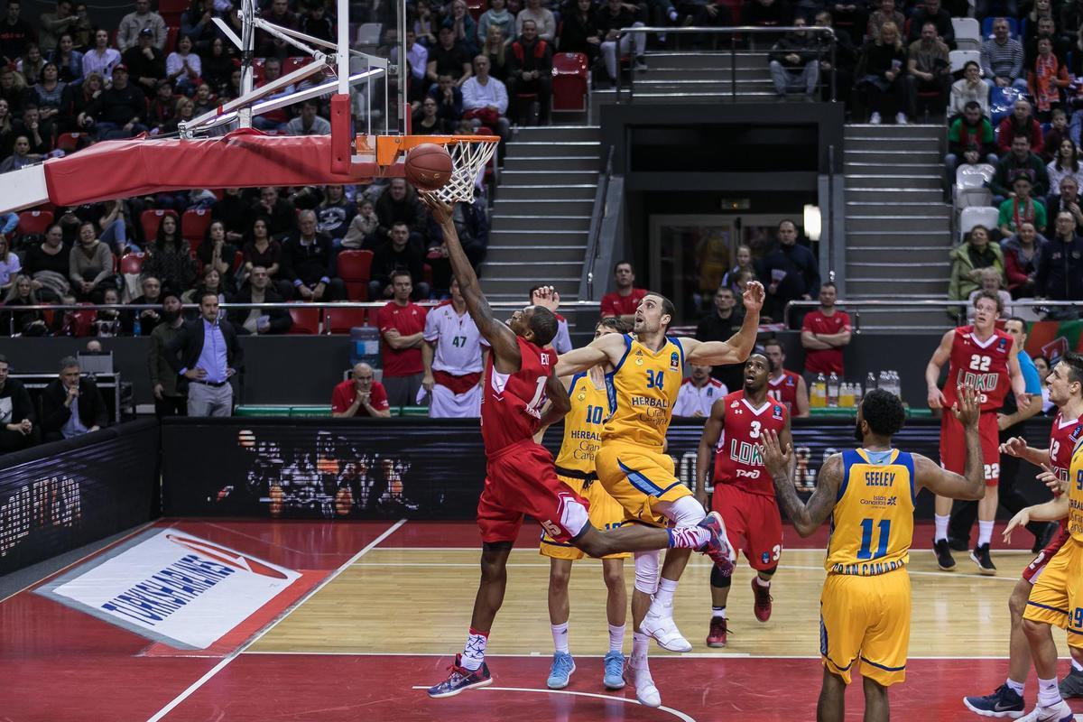 Как ПБК «Локомотив-Кубань» сыграл с «Гран-Канарией» в четвертьфинале Еврокубка