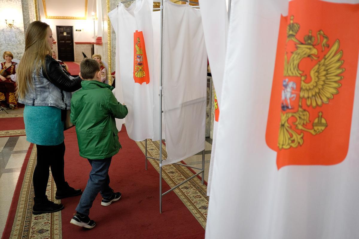 Как жители разных районов Кубани голосовали на выборах президента