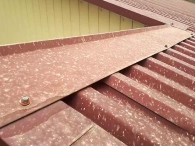 Песчаная буря из Африки принесла на Кубань коричневый снег и дождь