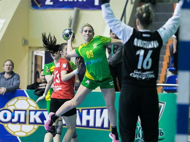 Как ГК «Кубань» сыграл с подмосковной «Звездой» в четвертьфинале Суперлиги