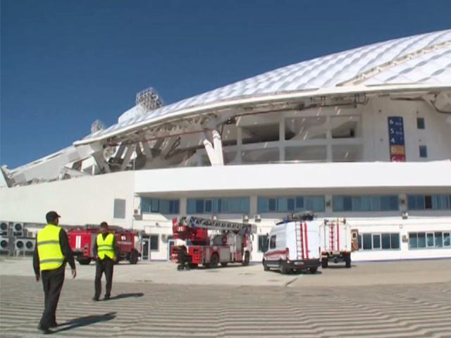 В Олимпийском парке Сочи прошли комплексные пожарно-тактические учения