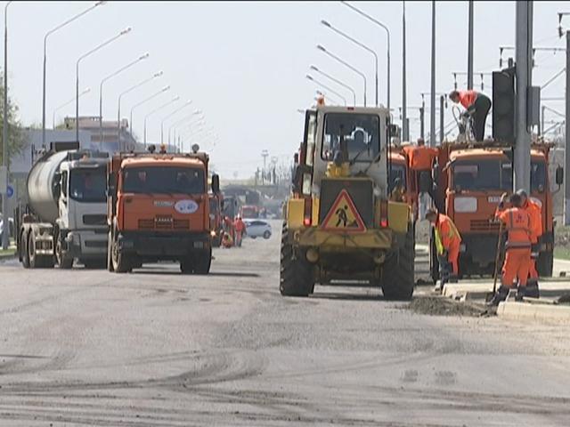 В Краснодаре из-за ремонта на улице Новороссийской образовался затор