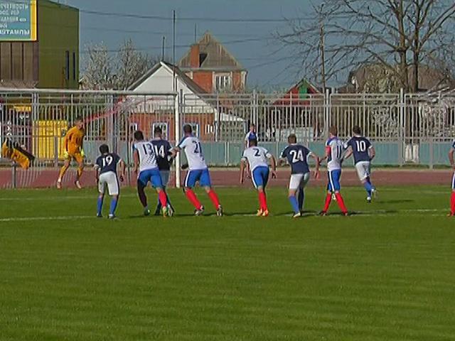 ФК ПСК и «Кубань-Холдинг» сыграли в первом туре чемпионата края