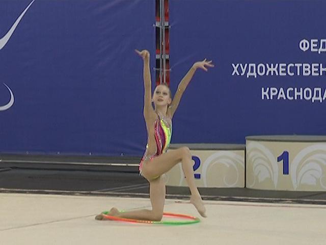 В Краснодаре открылись краевые соревнования по художественной гимнастике