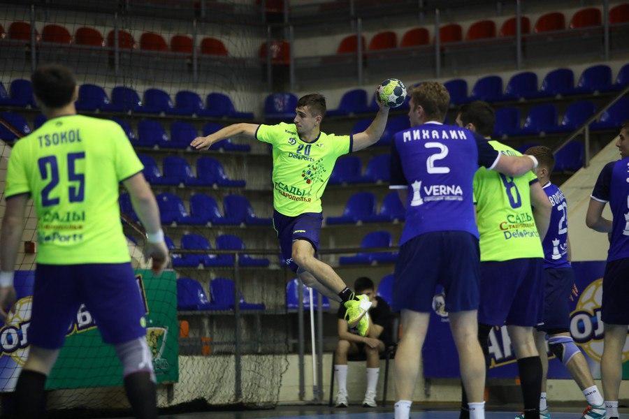 Как гандболисты СКИФа сыграли с «Динамо-Виктором»