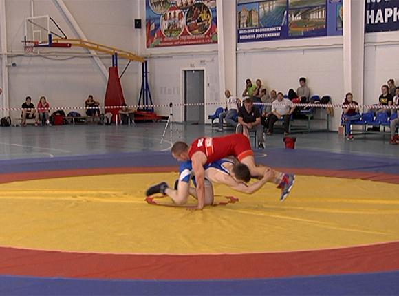 В Тимашевске завершился чемпионат края по вольной борьбе