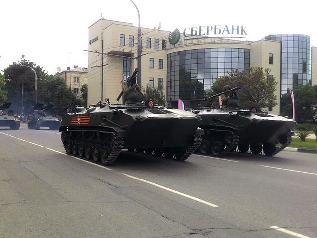 В Новороссийске прошел военный парад Победы