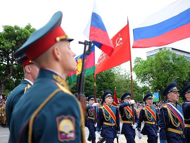 Как отмечали День Победы в разных районах Кубани