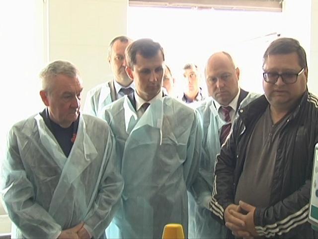 Вице-губернатор Кубани Андрей Коробка посетил сельхозкооператив в станице Анастасиевской
