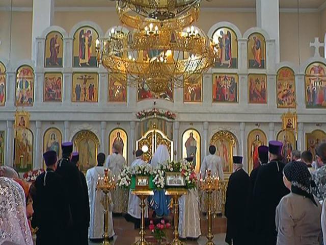 В Краснодаре провели литургию в честь 150-летия со дня рождения Николая II