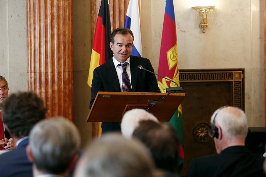 Вениамин Кондратьев: гарантии немецкому бизнесу даю я лично