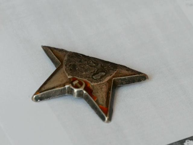 Житель Кореновского района в огороде нашел фрагмент ордена Красной Звезды