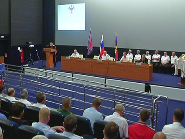 В станице Тбилисской прошел отчетный сбор казаков Кавказского отдела Кубанского войска