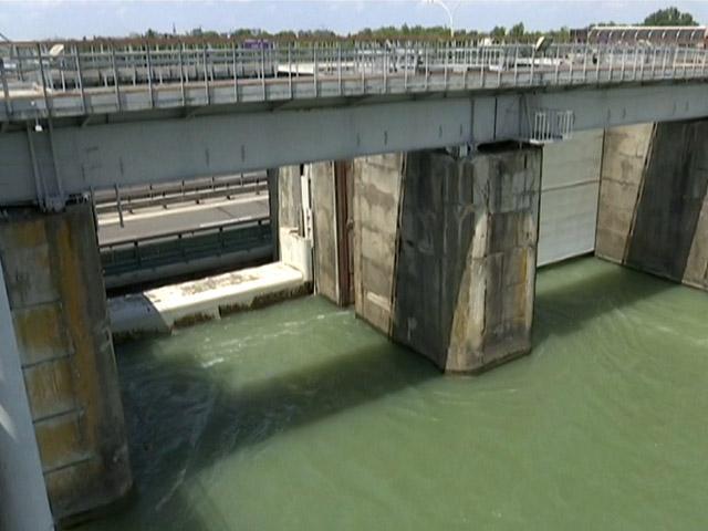В соцсетях вызвало панику видео «переполненного» Краснодарского водохранилища