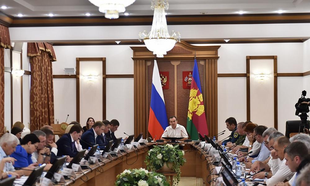 Вениамин Кондратьев провел заседание по противопожарной безопасности