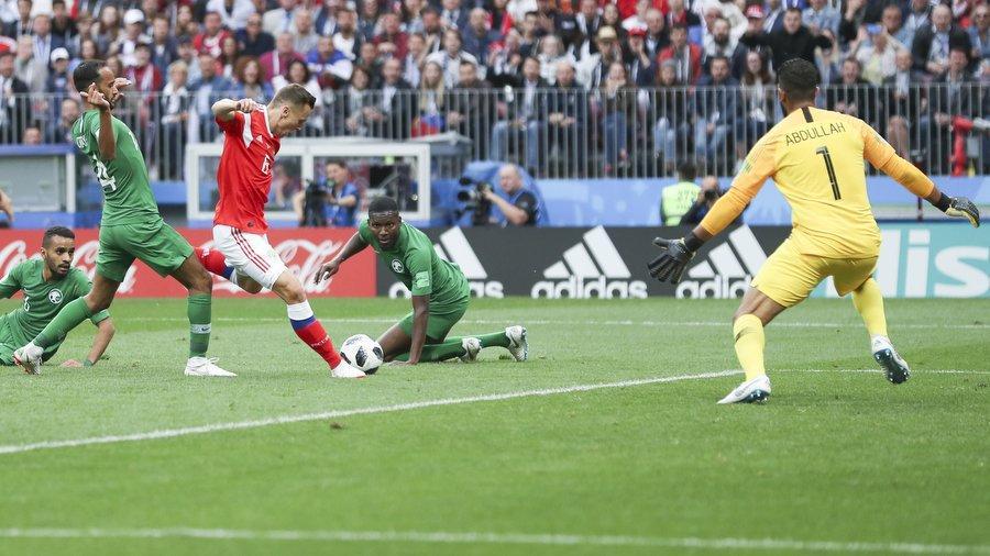 Как прошел матч Россия — Саудовская Аравия