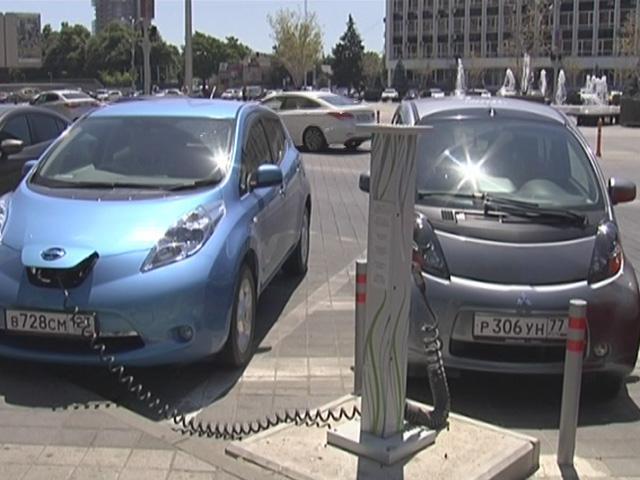 В Краснодаре до конца июля появятся девять зарядных станций для электромобилей