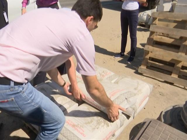 На Кубани начали проводить рейды по выявлению контрафактного цемента
