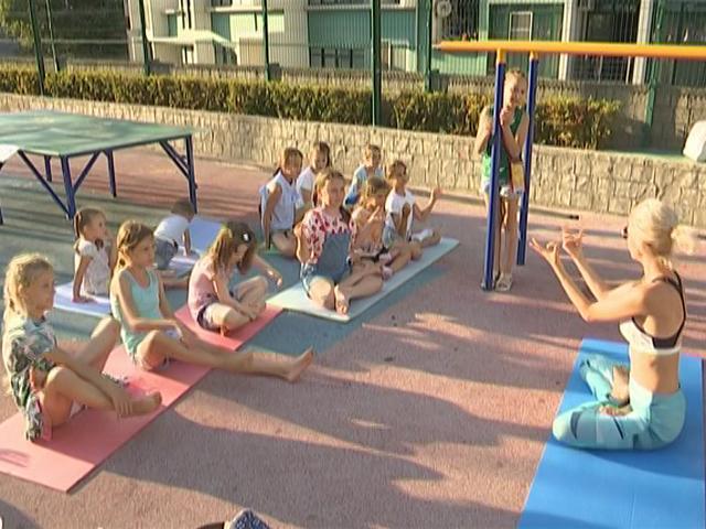 В Сочи для детей организовали 146 развлекательных площадок