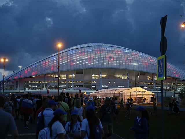 Какие матчи чемпионата мира по футболу прошли в Сочи