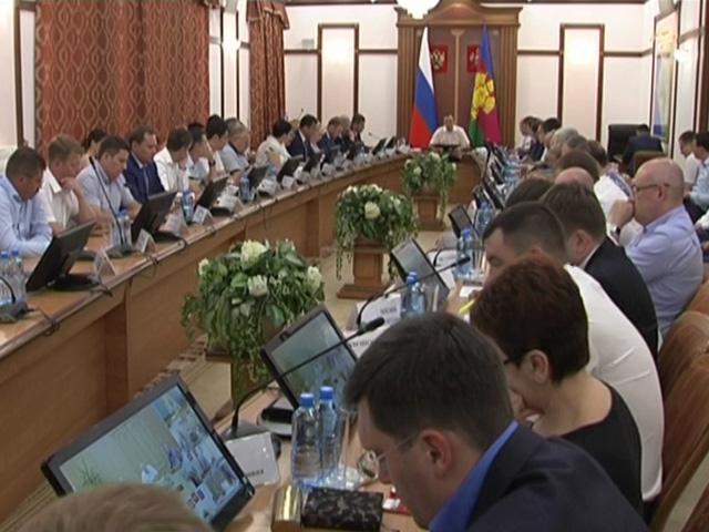В Краснодаре на краевой планерке обсудили рост тарифов на услуги ЖКХ