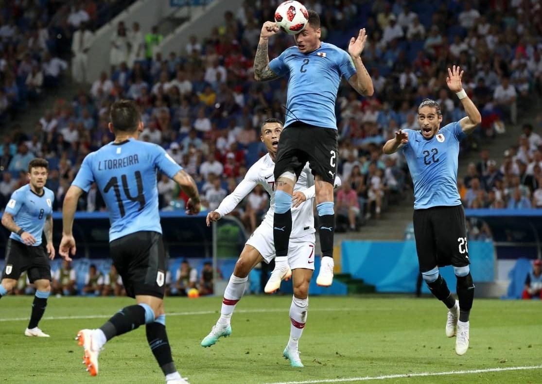 Как сборные Уругвая и Португалии провели матч 1/8 ЧМ в Сочи