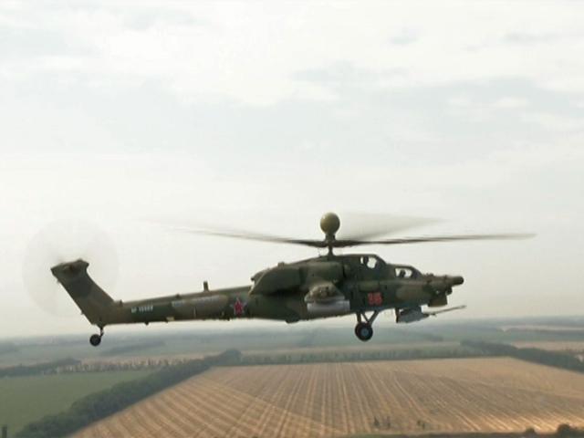 В Кореновске подняли в воздух новые учебно-боевые вертолеты