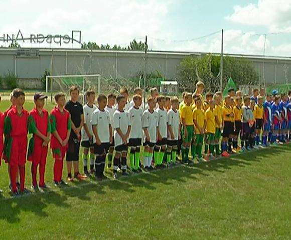 В Тимашевском районе стартовал зональный этап турнира по дворовому футболу
