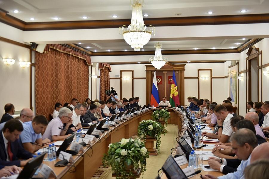 Кондратьев провел в Краснодаре совещание по улучшению инвестклимата края