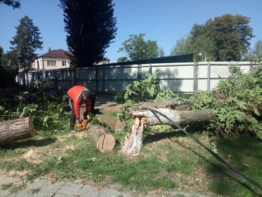 Непогода причинила ущерб городам в разных районах Кубани