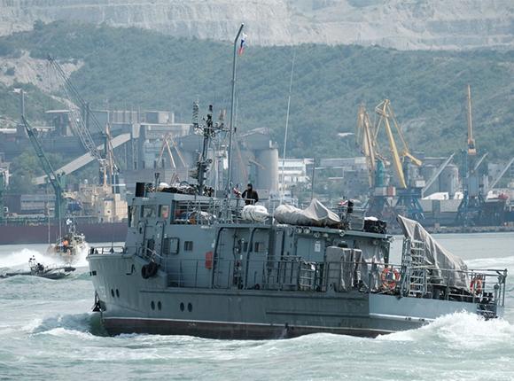 Как в Новороссийске отпраздновали День военно-морского флота