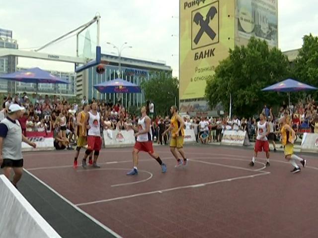 В Краснодаре состоялся финал стритбольного фестиваля Red Bull Reign