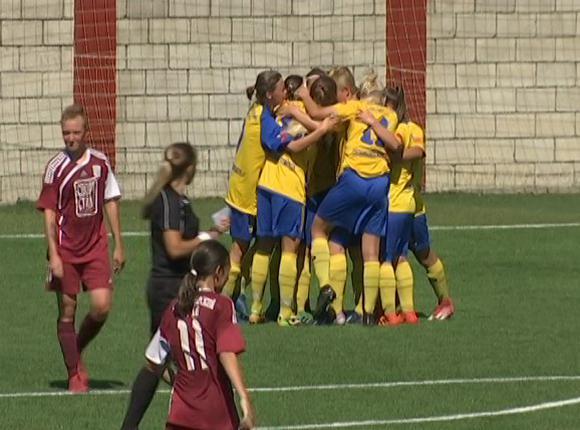 Женская сборная Кубани по футболу сыграла вничью с командой из Подмосковья