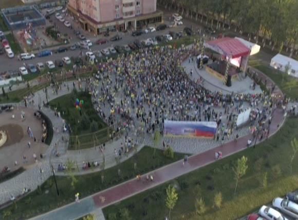 В Краснодаре провели праздник для жителей микрорайонов «Губернский» и «Панорама»